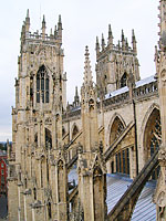 York Minster: Half Way Up The Tower
