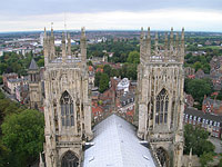 York Minster: From The Top Of The Tower