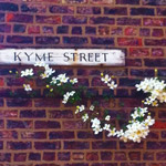 Flowers on Kyme Street, York