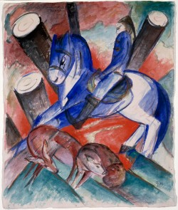 St Julian the Hospitaller, Franz Marc