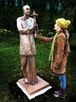 Peace Statue, Botanic Garden of Wales